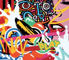 """""""Play"""" - Painting by Speedy Graphito"""