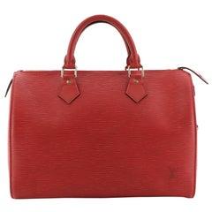 Speedy Handbag Epi Leather 30