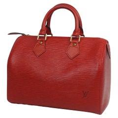 Speedy25  Womens  handbag M43017  castilian red