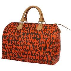 Louis Vuitton Speedy 30  Womens  Boston bag M93705  Orange Leather