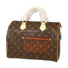 Louis Vuitton Speedy 30  Womens  Boston bag M95182  Orange Leather