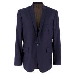 Spencer Hart Navy Blue Wool Blazer SIZE 42
