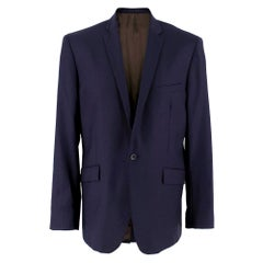 Spencer Hart Navy Blue Wool Blazer SIZE XL - 42