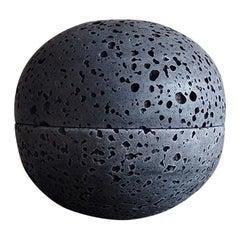 Sphere Censer by Brendan Tadler, Black