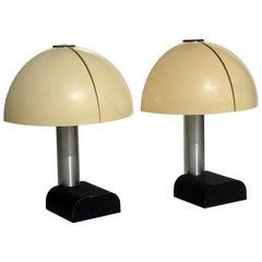 """""""Spicchio"""" by Danilo and Corrado Aroldi Stilnovo 1973 Table Lamp Set of 2"""