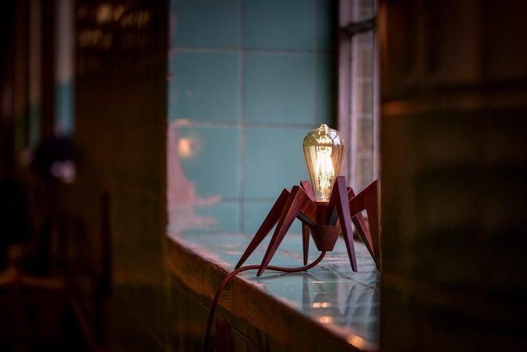 Organic Modern Spider Lamp by Alexandre Caldas For Sale