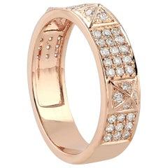 Spike Diamond 18 Karat Gold Ring