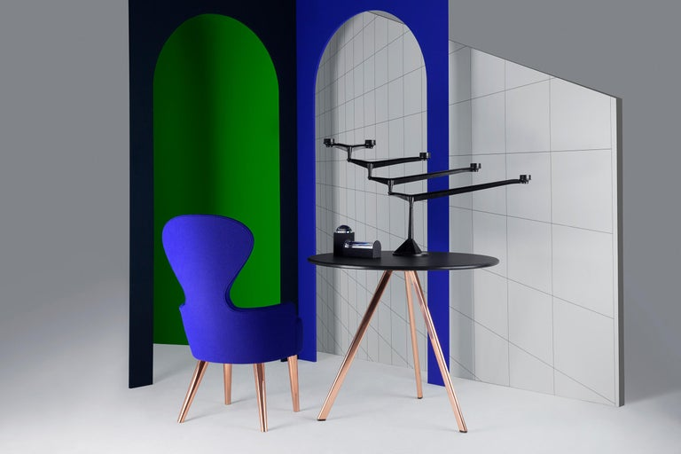 Iron Spin Large Candelabra by Tom Dixon For Sale