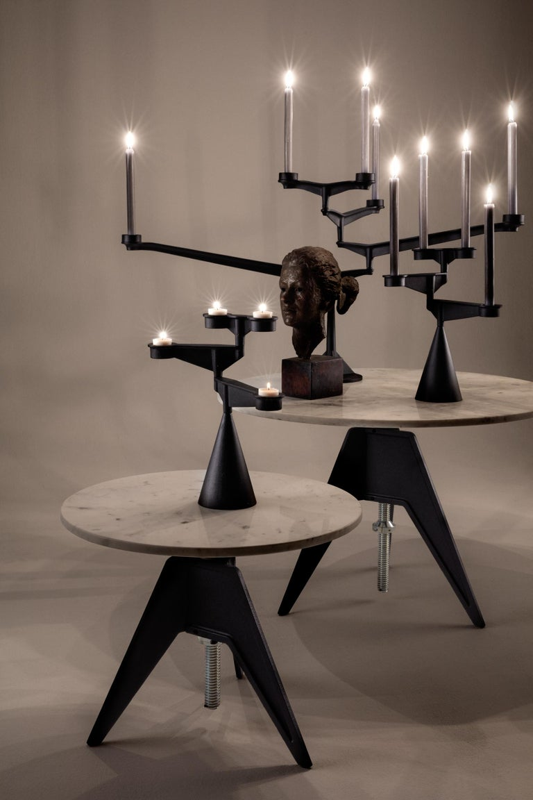 Spin Large Candelabra by Tom Dixon For Sale 1