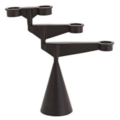 Spin Mini Candelabra in Cast Iron by Tom Dixon