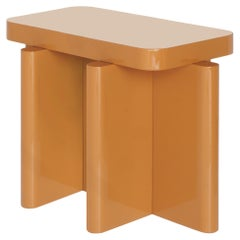 Spina Table in Lac Wood Caramel Edit by Portego
