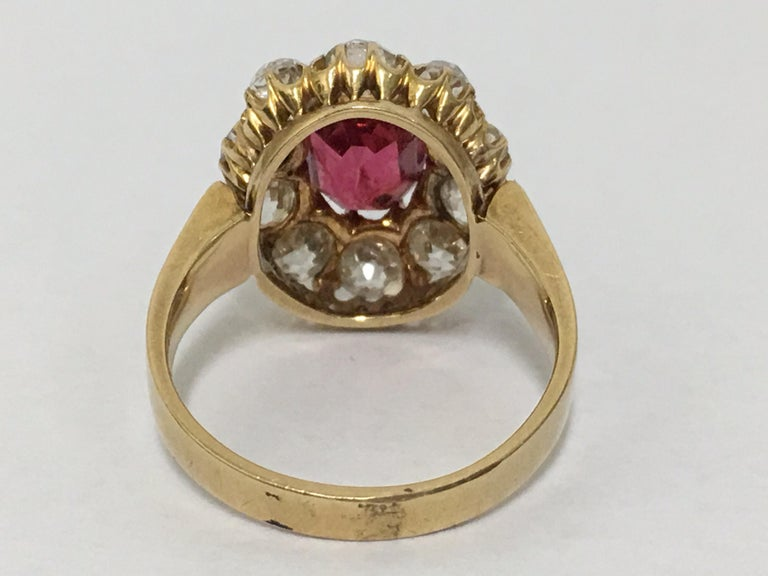 Spinal and Diamonds Antique Ring 5