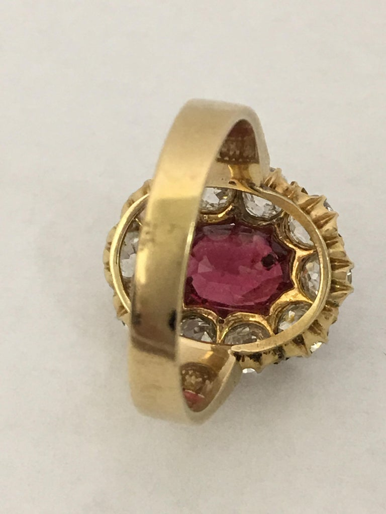 Spinal and Diamonds Antique Ring 1