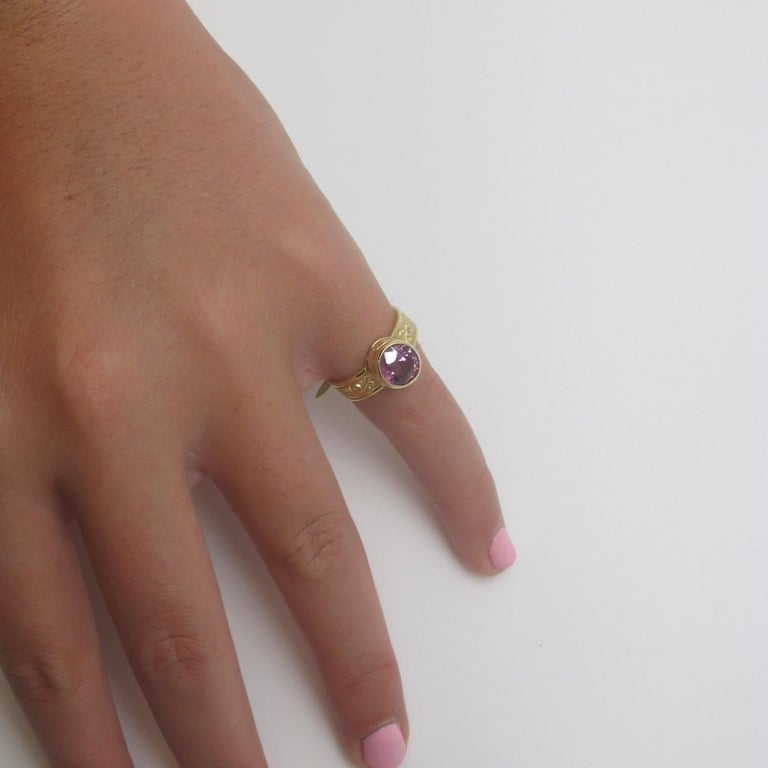 Artisan Spinel Ring For Sale