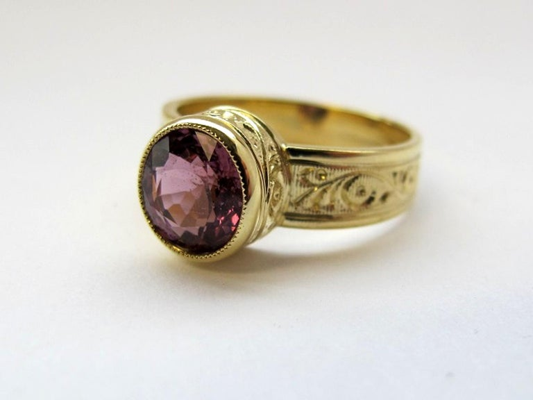 Spinel Ring In New Condition For Sale In Los Angeles, CA