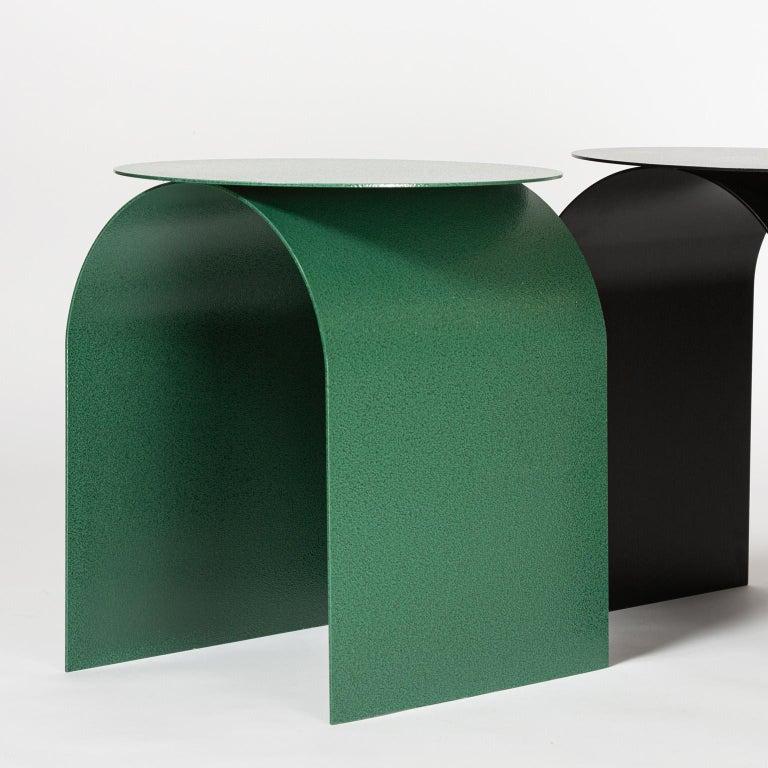 Powder-Coated Spinzi Palladium Green ''Martellato