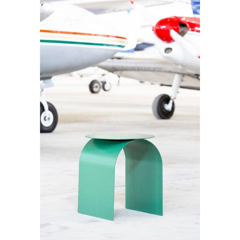 Cut Steel Spinzi Palladium Green ''Martellato