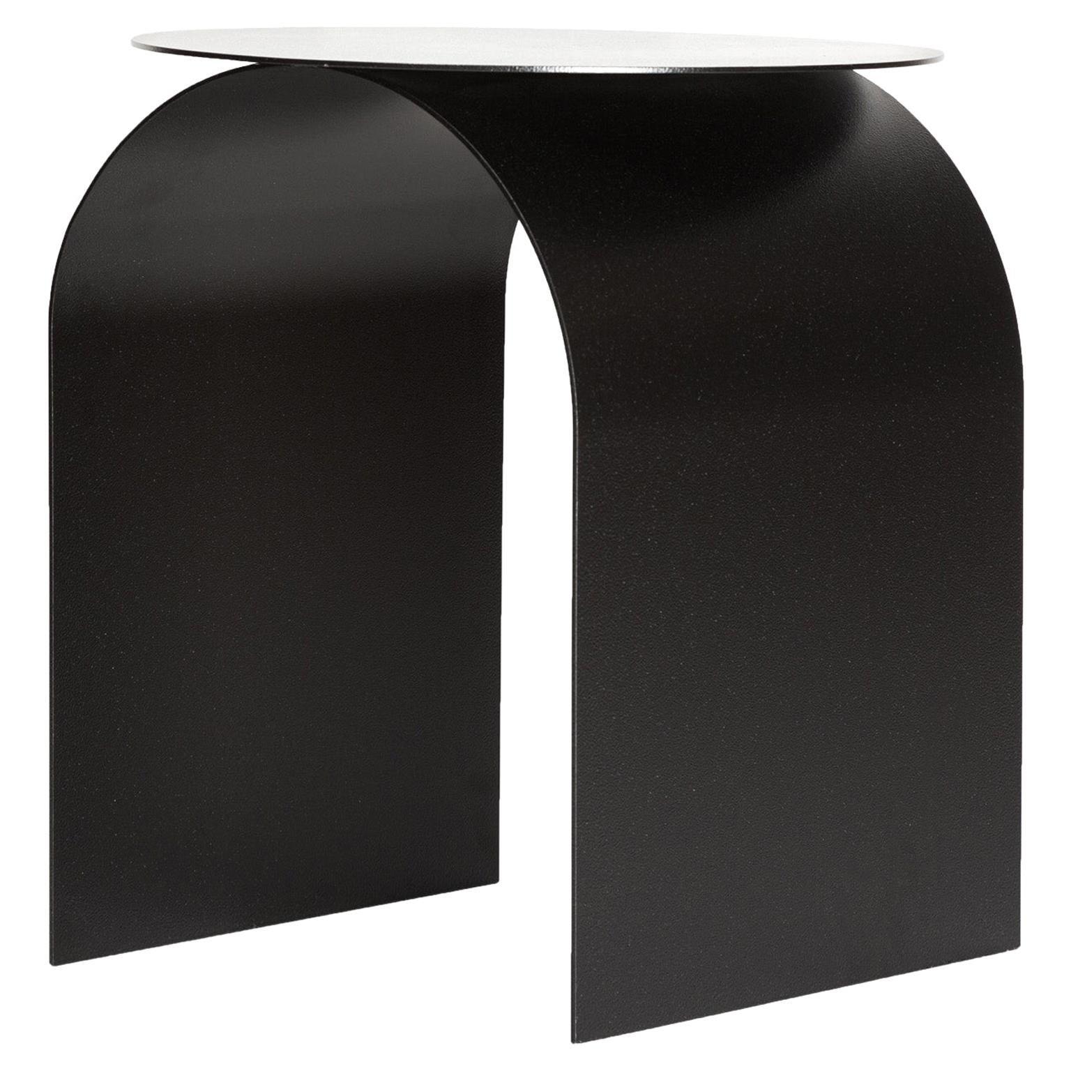 Spinzi Palladium Side Table Round Top