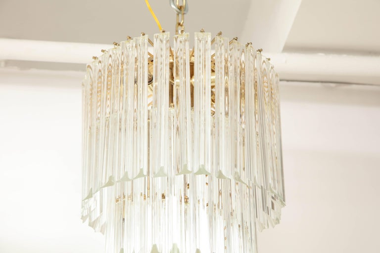 Spiral Chandelier by Camer For Sale 2