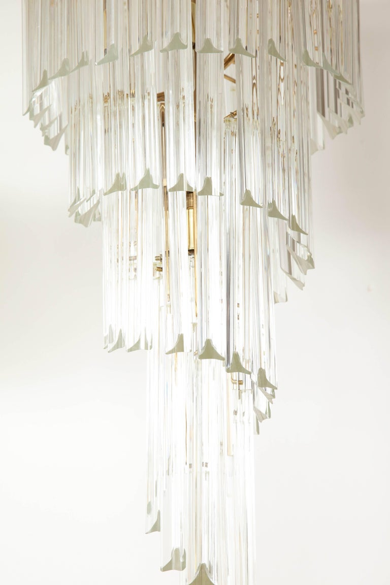 Spiral Chandelier by Camer For Sale 3