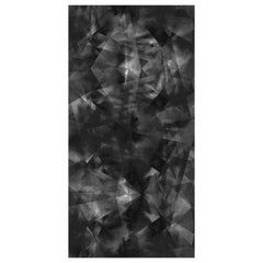Spiral Chaos Wallpaper in Black by 17 Patterns