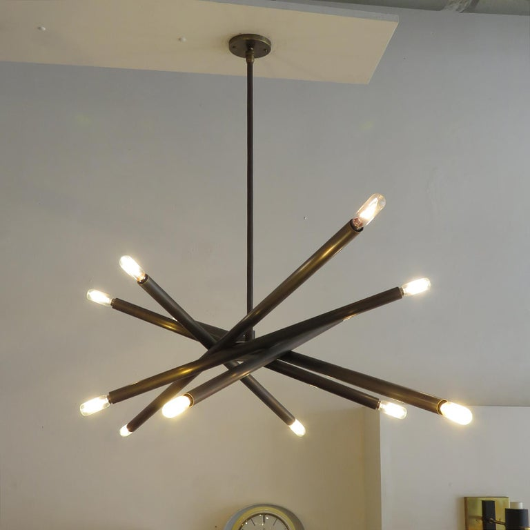 Spiral VL-6 Chandelier by Gallery L7 For Sale 2