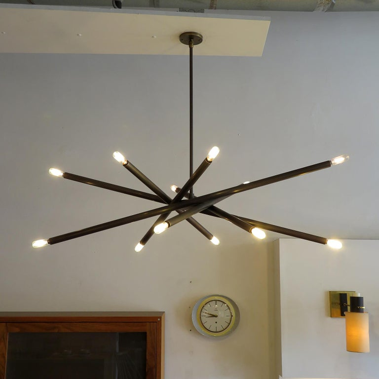 Spiral VL-6 Chandelier by Gallery L7 For Sale 1