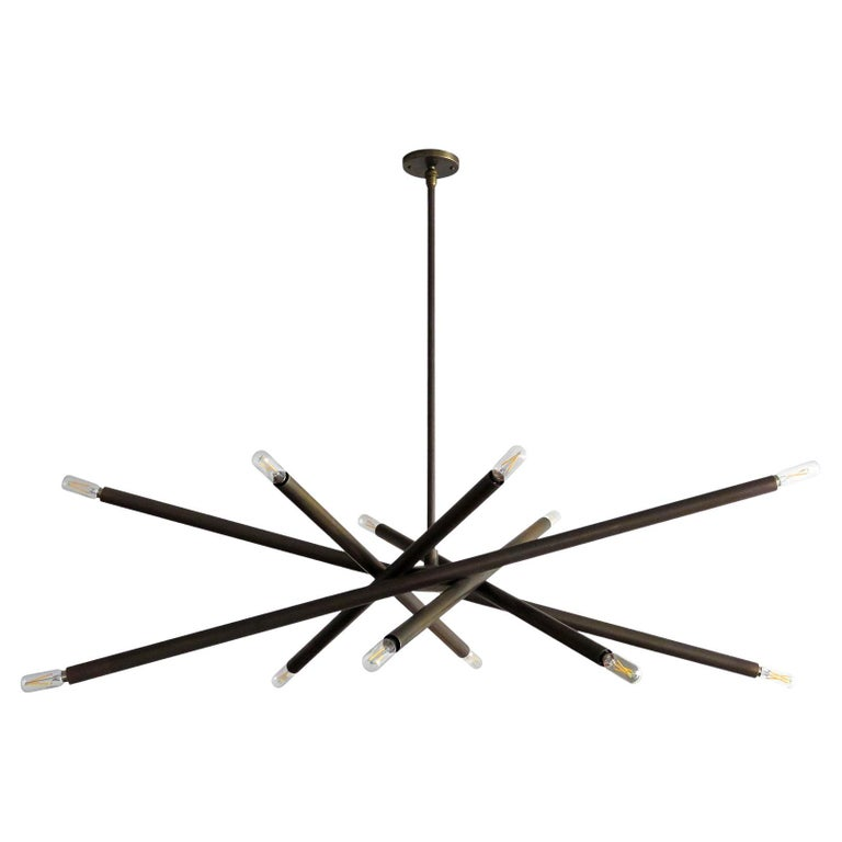 Spiral VL-6 Chandelier by Gallery L7 For Sale