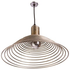 """Spirale"" Pendant Lamp by Angelo Mangiarotti for Candle"