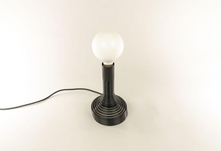 Mid-Century Modern Spirale Table Lamp by Angelo Mangiarotti for Candle, 1970s For Sale