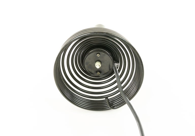 Italian Spirale Table Lamp by Angelo Mangiarotti for Candle, 1970s For Sale