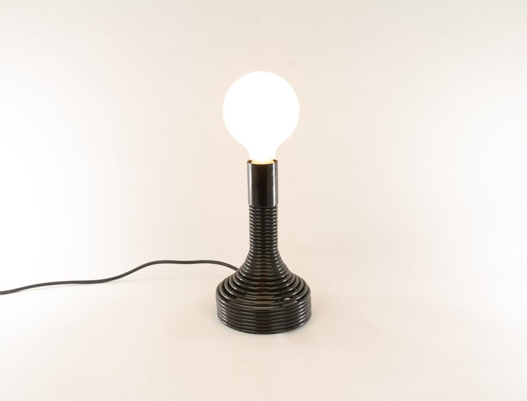 Spirale Table Lamp by Angelo Mangiarotti for Candle, 1970s In Excellent Condition For Sale In Rotterdam, NL