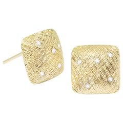 Spirit Diamond Stud Earrings