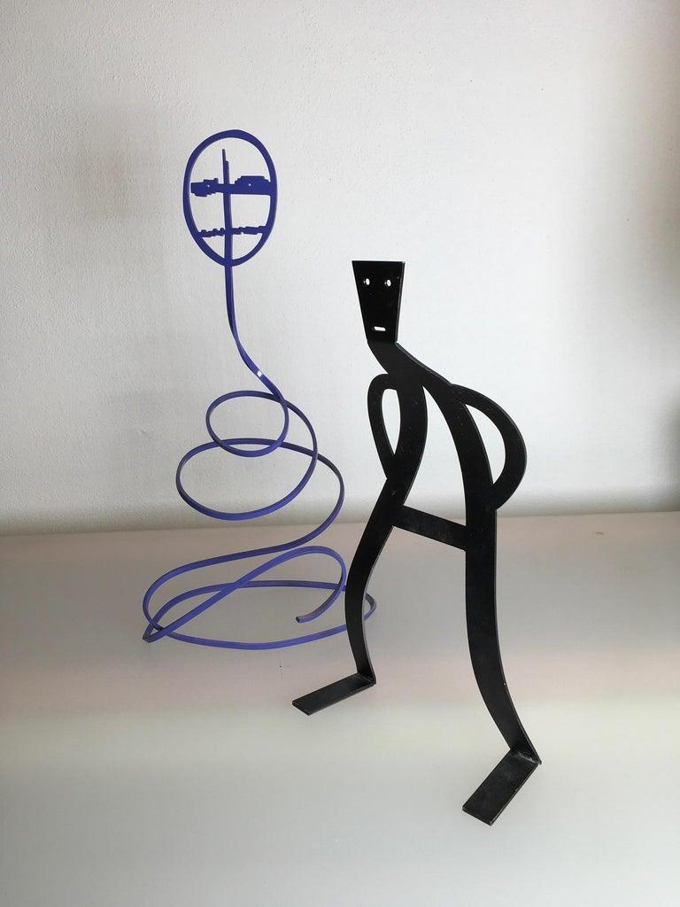 Modern Spiritelli Sculptures Collection by Alchimia