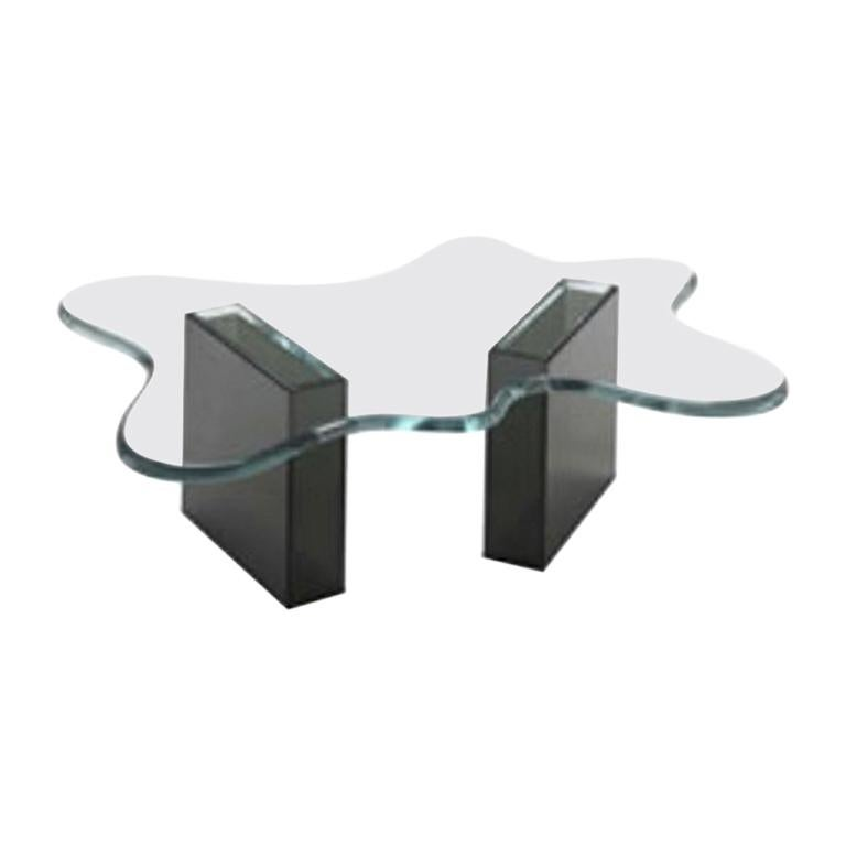 Splash Glass Coffee Table, Designed by Karim Rashid, Made in Italy For Sale