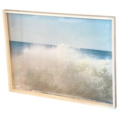 """Splash II"" Framed Ocean Photograph Signed"