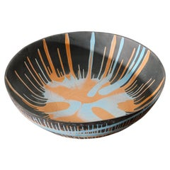 Splatter Porcelain Bowl by Lawrence Spitz