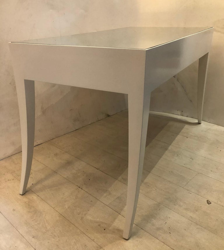 Splay Leg Mid-Century Modern Style Desk For Sale 2