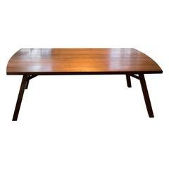 Splayed Leg Dining Table in Quartersawn Walnut