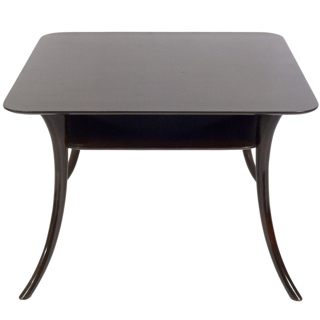 Splayed Leg End Table by T.H. Robsjohn-Gibbings