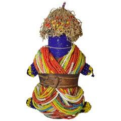 Splendid African Tribal Ham Pilu Fertility Doll Namji Fali, Cameroon