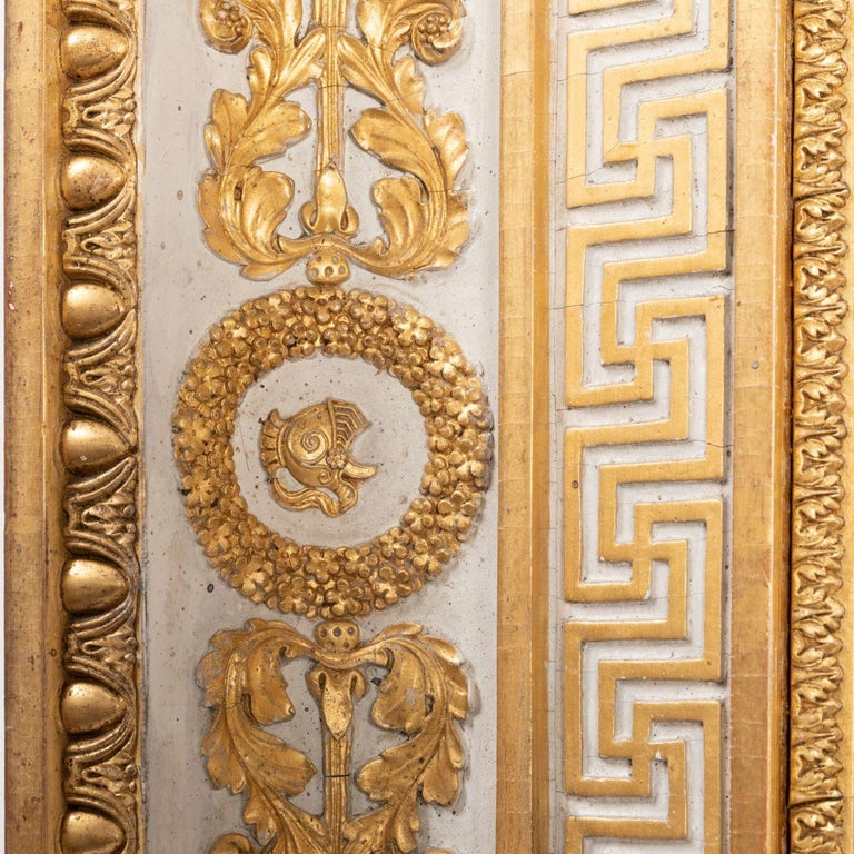 Splendid French Empire Carved Giltwood Frame or Mirror France Early 19th Century For Sale 4