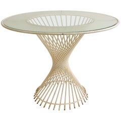 Splendid Italian 1950s Garden Table