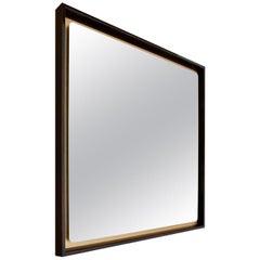 Splendo Square Wall Mirror by Bosco Fair and Emanuele Genuizzi