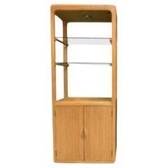 Split Reed Rattan Bookcase