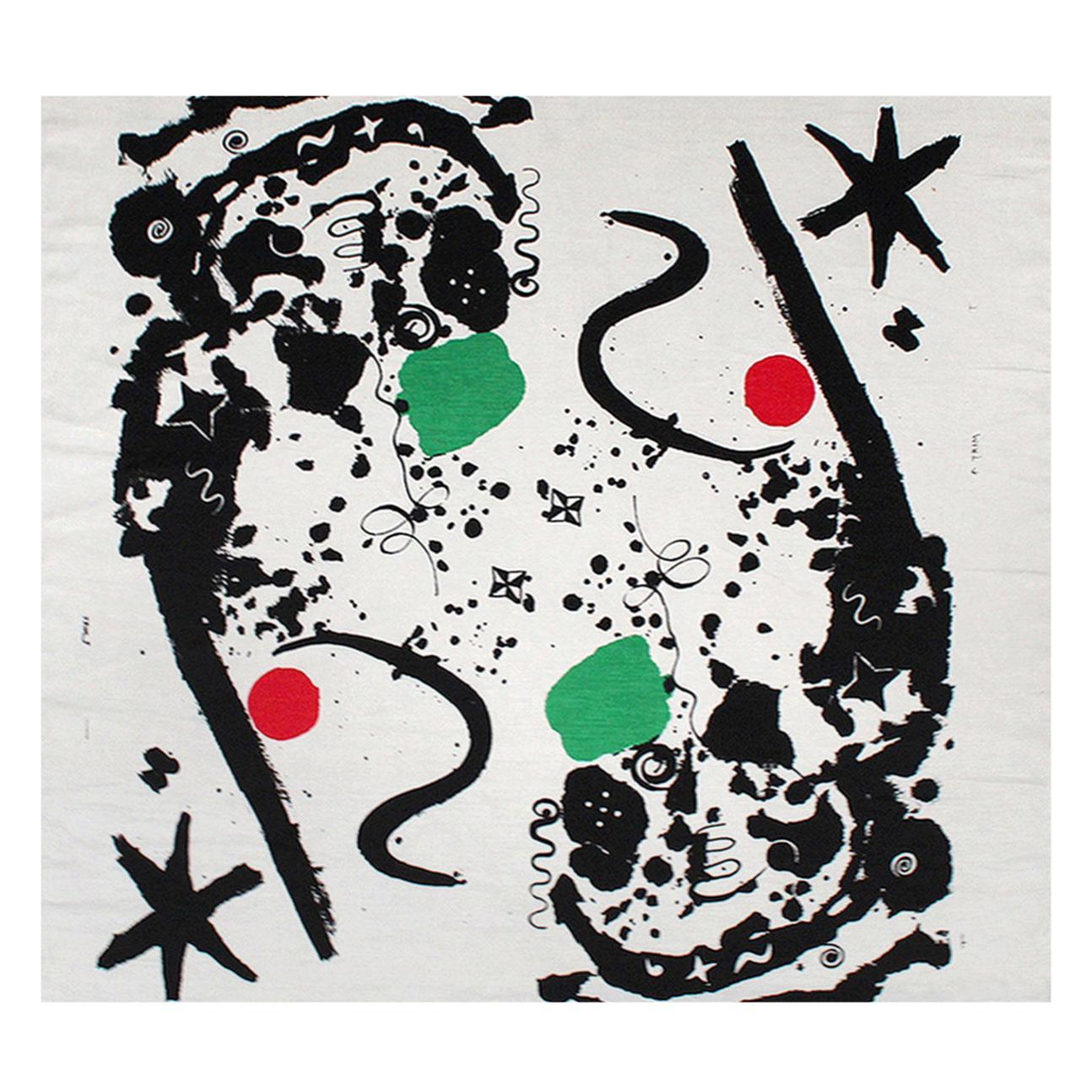 """""""Splotchy"""" Textile by Alexander Calder for Laverne Originals"""