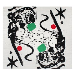 """Splotchy"" Textile by Alexander Calder for Laverne Originals"