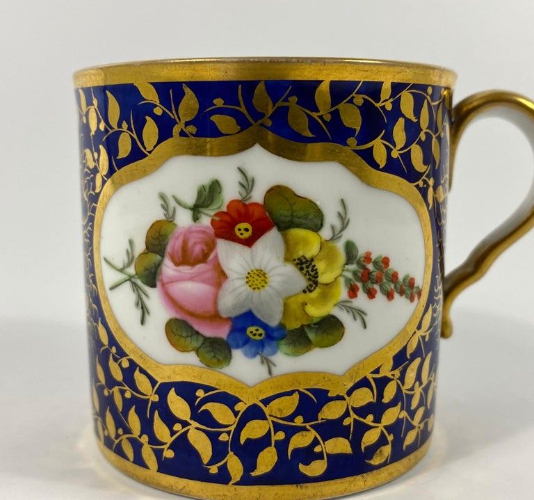 Fired Spode Porcelain Coffee Can, circa 1815
