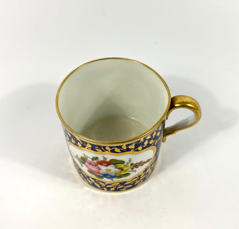 Spode Porcelain Coffee Can, circa 1815 In Excellent Condition In Gargrave, North Yorkshire