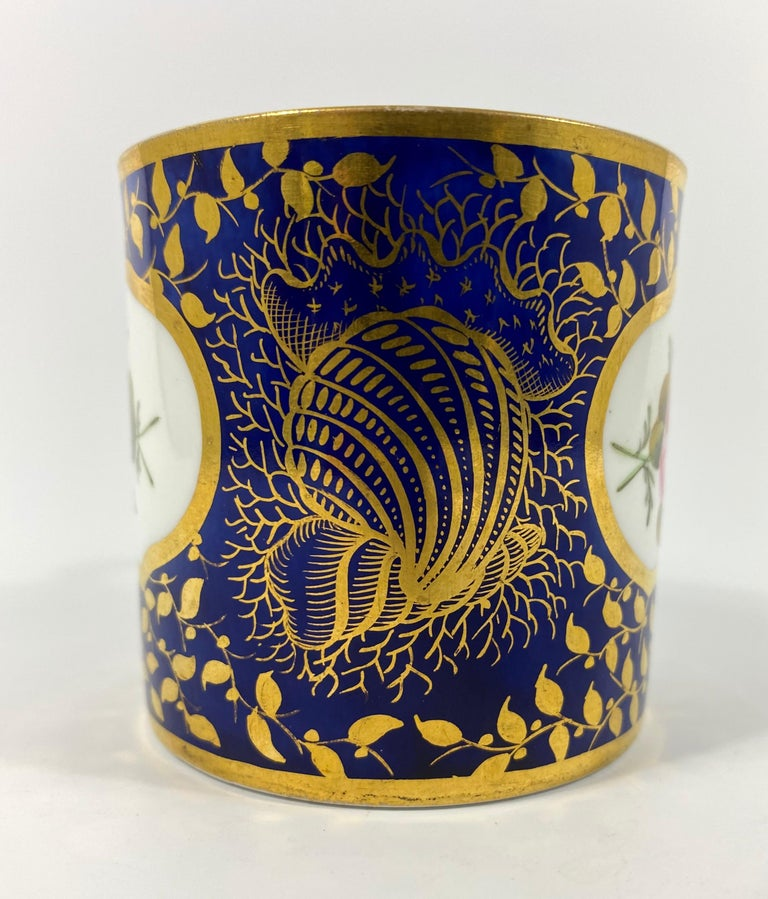 Early 19th Century Spode Porcelain Coffee Can, circa 1815